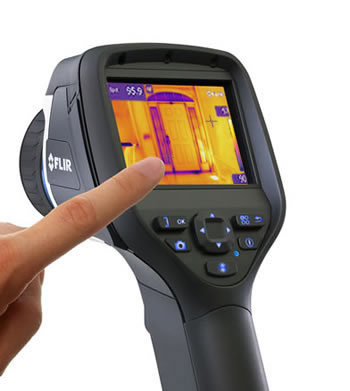 FLIR E40 Infrared Camera Touchscreen